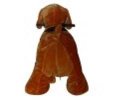 Фото зоомобиля Joy Automatic Собачка Тобби с монетоприемником вид сзади