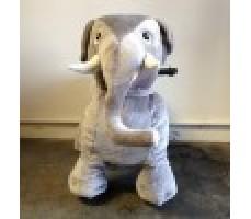 Фото зоомобиля Joy Automatic Слон с монетоприемником вид спереди