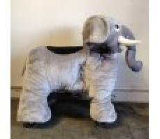 Фото зоомобиля Joy Automatic Слон с монетоприемником вид сбоку