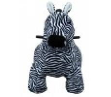 Фото зоомобиля Joy Automatic Зебра с монетоприемником вид спереди