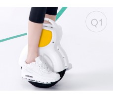Моноколесо Airwheel Q1 White в работе