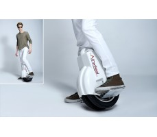 Моноколесо Airwheel Q3 MAX White в работе
