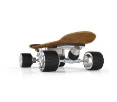 Фото электрического скейтборда Airwheel M3 вид сзади