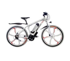Электровелосипед SmartWheels California White