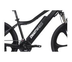 фото рама Электровелосипед SmartWheels Huracane Black