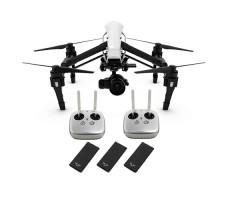 Квадрокоптер DJI Inspire 1 RAW 2 пульта + 3 SSD + объектив