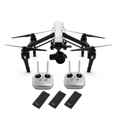 Квадрокоптер DJI Inspire 1 RAW 2 пульта + 3 SSD + объектив | Купить, цена, отзывы