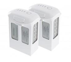 Фото комплектных аккумуляторов для квадрокоптера DJI Phantom 4 Pro
