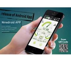 Фото мобильного приложения для сигвея Ninebot E Black