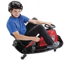 Фото электрокарта Razor Crazy Cart с пассажиром
