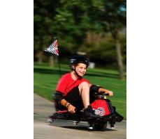 Фото электрокарта Razor Crazy Cart в движении