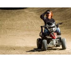 Фото электроквадроцикла Razor Dirt Quad вид спереди