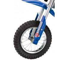 Фото переднего колеса электробайка Razor MX350 Blue