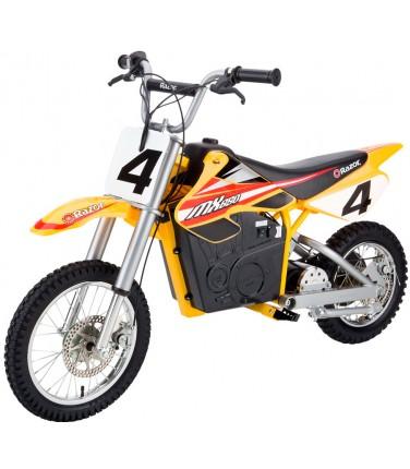 Электробайк Razor MX650 Yellow | Купить, цена, отзывы