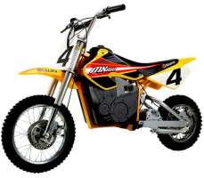 Фото электробайка Razor MX650 Yellow