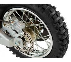 Фото заднего колеса электробайка Razor MX650 Yellow