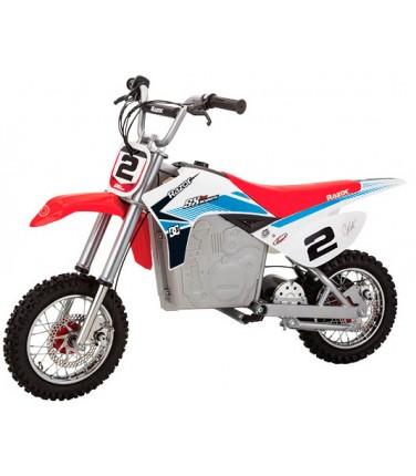Электробайк Razor SX500  White-blue-red | Купить, цена, отзывы