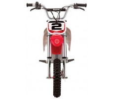 Фото электробайка Razor SX500  White-blue-red вид спереди