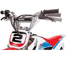 Фото руля электробайка Razor SX500  White-blue-red
