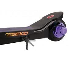 Электросамокат Razor Power Core E100 Purple вид на мотор колесо
