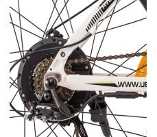 Фото заднего колеса электровелосипеда Uberbike S26 500 White