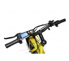 Фото руля электровелосипеда Volteco Bigcat Dual Yellow