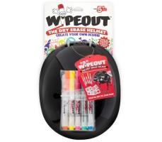 Фломастеры в комплекте шлема с фломастерами Wipeout Black (M 5+)