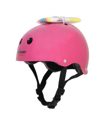 Шлем с фломастерами Wipeout Neon Pink (M 5+) | Купить, цена, отзывы