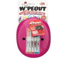 Фломастеры в комплекте шлема с фломастерами Wipeout Neon Pink (M 5+)