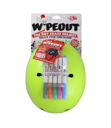 Шлем с фломастерами Wipeout Neon Zest (M 5+) | Купить, цена, отзывы