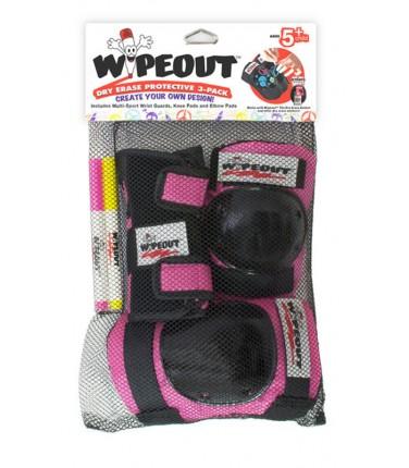 Комплект защиты Wipeout Pink (M 5+) | Купить, цена, отзывы