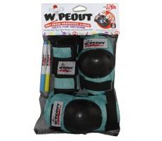 Комплект защиты Wipeout Teal (M 5+)