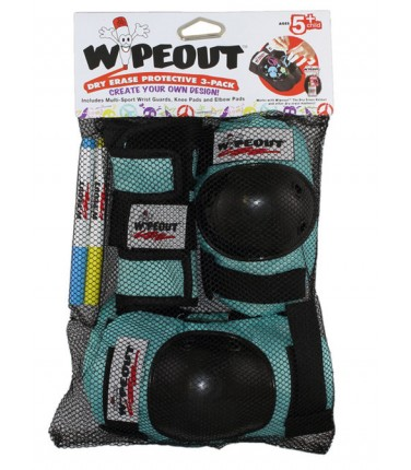 Комплект защиты Wipeout Teal (M 5+) | Купить, цена, отзывы