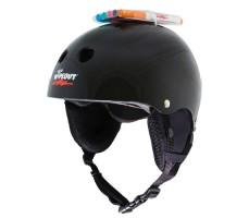 Зимний шлем с фломастерами Wipeout Black (8+)