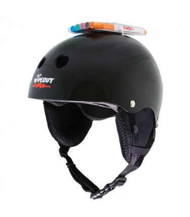 Зимний шлем с фломастерами Wipeout Black (8+) | Купить, цена, отзывы
