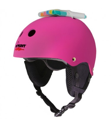 Зимний шлем с фломастерами Wipeout Neon Pink (5+) | Купить, цена, отзывы