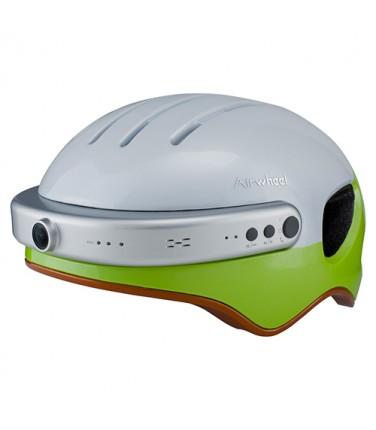 Шлем с камерой Airwheel C5 White&Green | Купить, цена, отзывы