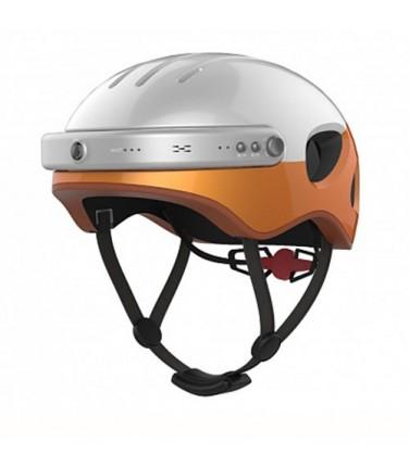 Шлем с камерой Airwheel C5 White&Orange | Купить, цена, отзывы