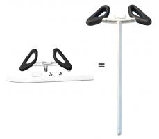 Ручка-руль для Xiaomi Ninebot Mini White
