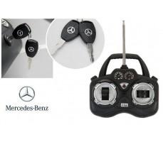 Фото пульта управления электромобилем Mercedes-Benz SRL McLaren Silver