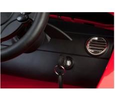 Фото замка зажигания электромобиля Mercedes-Benz SRL McLaren Red