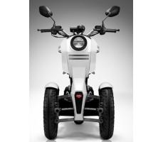 Фото электроскутера Hoverbot iTank PRO White вид спереди