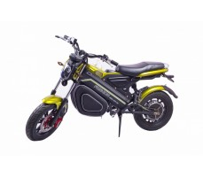 Электромотоцикл Novelty Electronics Bike Black вид сбоку