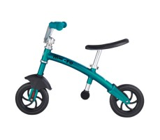 фото беговела Micro G-Bike Chopper Deluxe Aqua вид сбоку