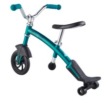 фото беговела Micro G-Bike Chopper Deluxe Aqua вид сзади