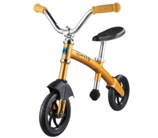 Беговел Micro G-Bike Chopper Deluxe Yellow