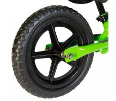 фото колеса беговела Strider 12 Classic Green