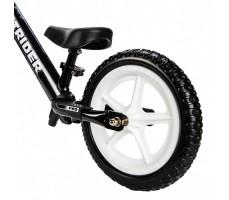 фото заднего колеса беговела Strider 12 Pro Black