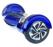 Фото гироскутера Ecodrift Flash Blue вид сбоку