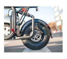 фото Электробайк Caigiees Harley MAX Black